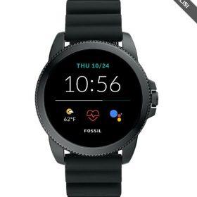 Fossil Smartwatches Gen 5E Black Silicone